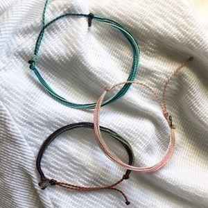 3 brand new Pura Vida bracelets